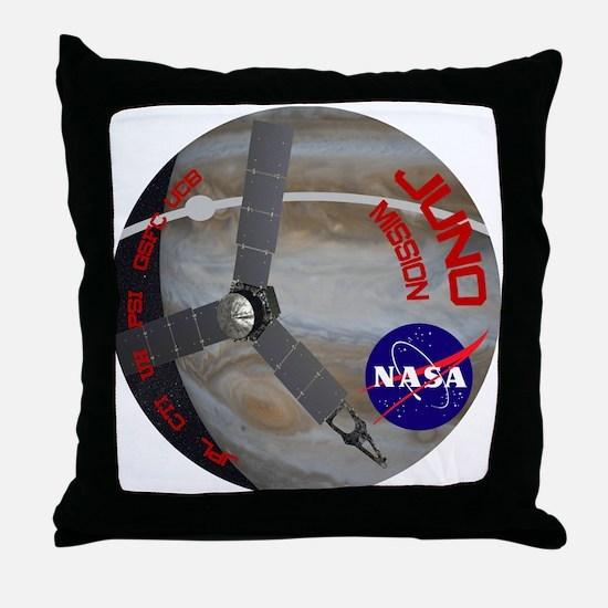 Juno: Program Patch Throw Pillow