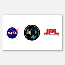 Juno New Frontiers Sticker (rectangle)