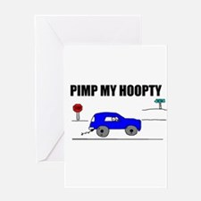 PIMP MY HOOPTY BIRTHDAY Greeting Card