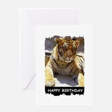 TIGER BIRTHDAY Greeting Card