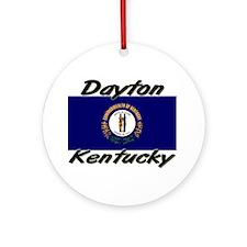 Dayton Kentucky Ornament (Round)