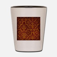 ROYAL RED AND GOLD Shot Glass