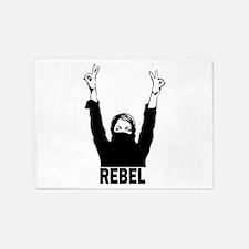 Rebel Girl 5'x7'Area Rug