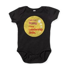 Funny Girl power Baby Bodysuit
