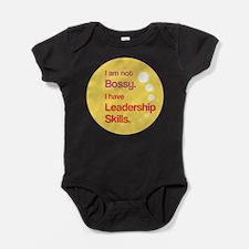 Cool Girl power Baby Bodysuit