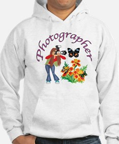 Photographer Photographing Nature Hoodie