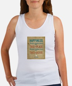Happiness is for Now Tank Top
