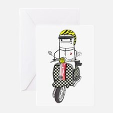 Lambretta Greeting Cards
