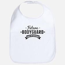 Future Bodyguard Like My Mommy Bib