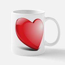 3d realistic hearth Mugs