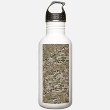 CAMO WOODLAND FADED Water Bottle