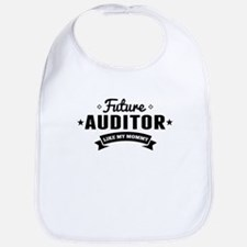 Future Auditor Like My Mommy Bib