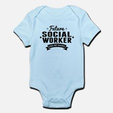 Future Social Worker Like My Daddy Body Suit