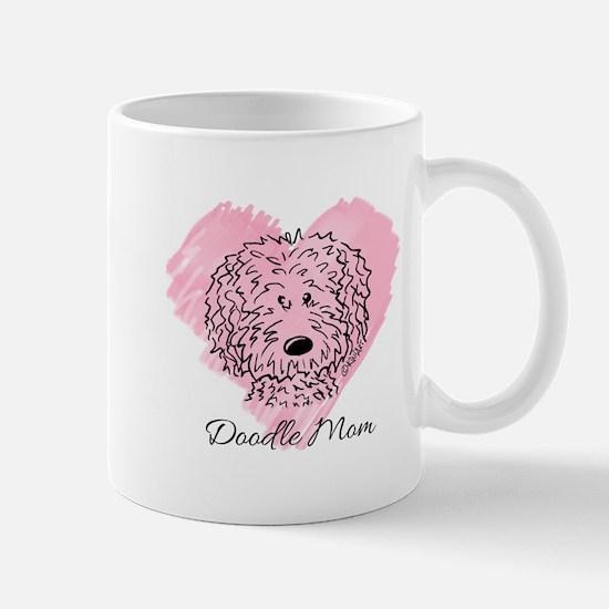 KiniArt Doodle Mom Mug