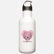 KiniArt Doodle Mom Water Bottle