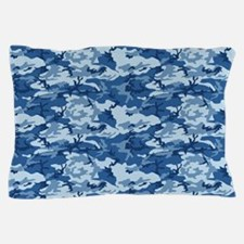 CAMO NAVY Pillow Case