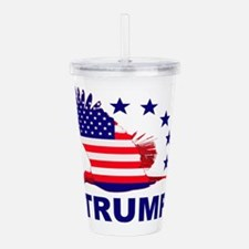 Trump For America Acrylic Double-wall Tumbler