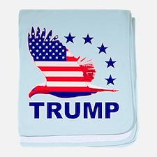Trump For America baby blanket