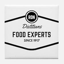 RDN Food Experts Tile Coaster