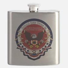 President Donald Trump Flask