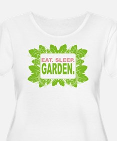 Eat. Sleep. Garden. T-Shirt