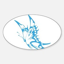 Butterfly faded hand painted Decal
