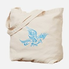 Crow Tribal Painting Faded Tote Bag