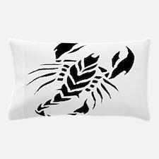 Tribal scorpion tattoo Pillow Case