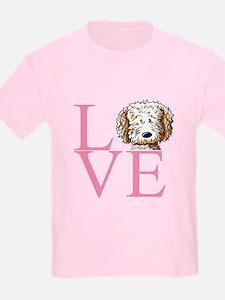 KiniArt Doodle Love T-Shirt
