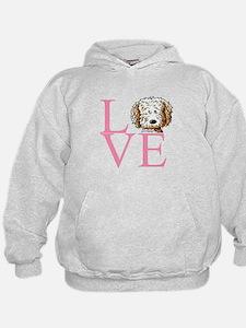 KiniArt Doodle Love Hoodie