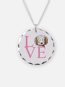 KiniArt Doodle Love Necklace