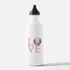 KiniArt Doodle Love Water Bottle