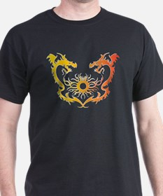 Twin dragons soul battle T-Shirt