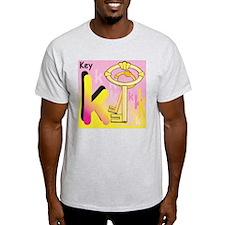 K for Key T-Shirt