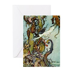The Little Mermaid Greeting Cards (Pk of 20)