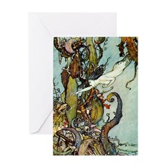 The Little Mermaid Greeting Card