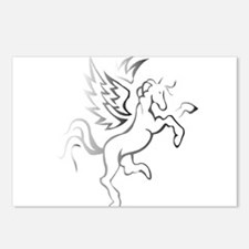 winged horse pegasus Postcards (Package of 8)