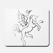winged horse pegasus Mousepad