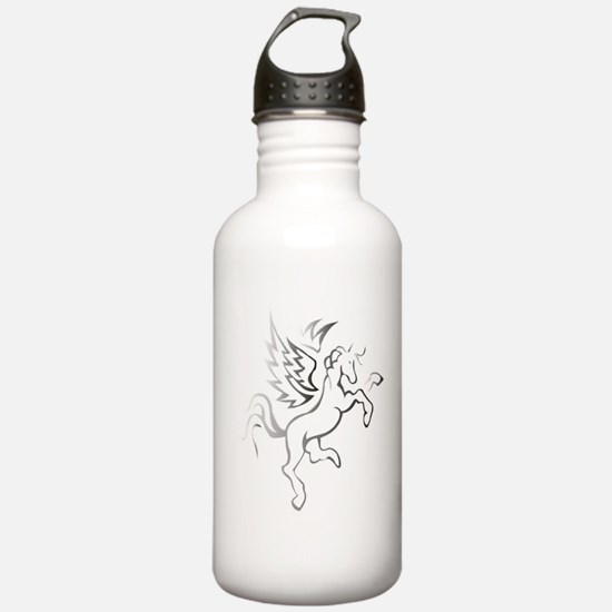 winged horse pegasus Sports Water Bottle