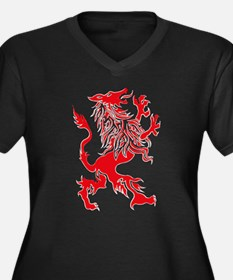 Werewolf spirit drawing Plus Size T-Shirt