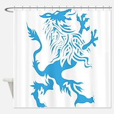 Werewolf spirit drawing Shower Curtain