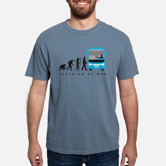 evolution of man bus driver T-Shirt