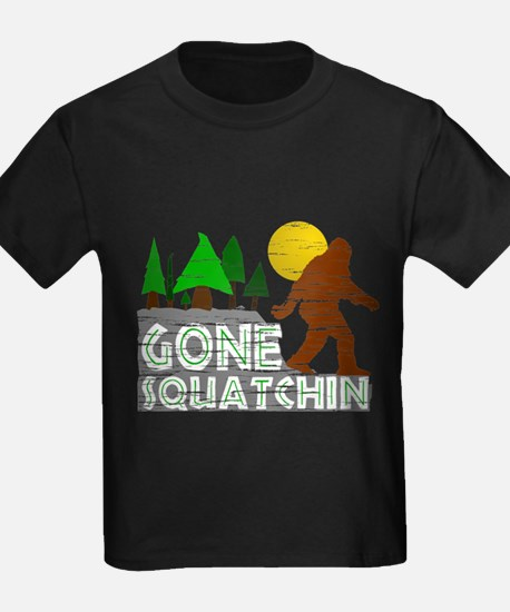 Funny Finding bigfoot T