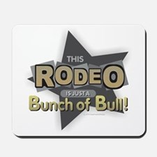 Rodeo - Bull Mousepad