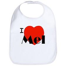 I Love Mel Bib