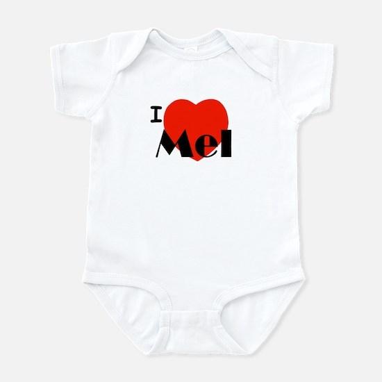 I Love Mel Infant Creeper
