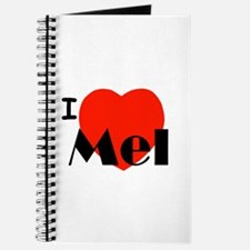 I Love Mel Journal