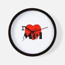 I Love Mel Wall Clock