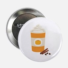 "Pumpkin Spice Latte 2.25"" Button (10 pack)"