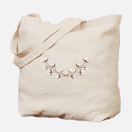 Cotton Branches Tote Bag